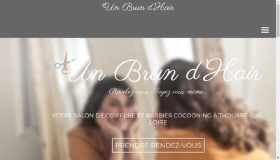 Site internet de Un Brun d'Hair