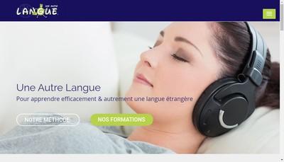 Site internet de Une Autre Langue