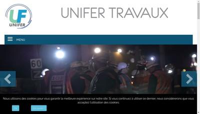 Site internet de Unifer