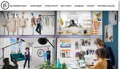Site internet de Uniforme Prestige