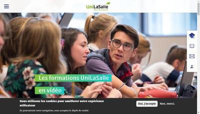 Site internet de Institut Polytechnique Unilasalle