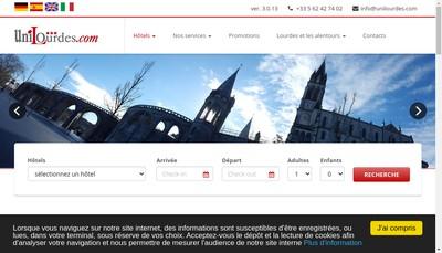 Site internet de Salus Infirmorum