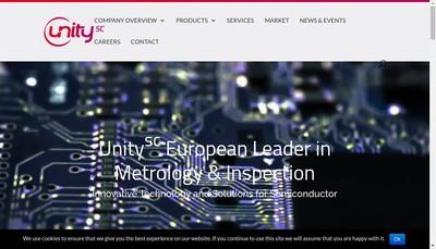 Site internet de Unity Semiconductor