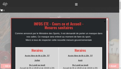 Site internet de Le Temple