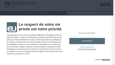 Site internet de E-Universalis
