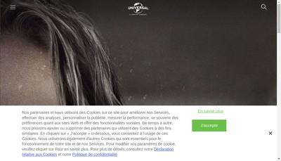 Site internet de Universal Pictures International France SAS