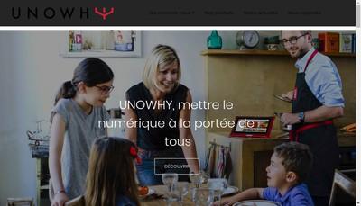 Site internet de Unowhy