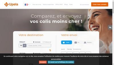 Site internet de Mpg Upela