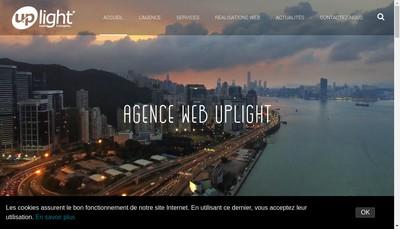 Site internet de Uplight