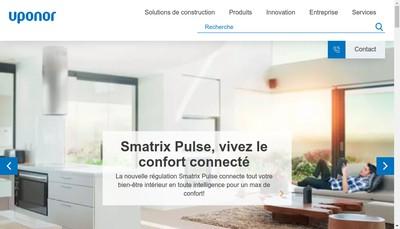 Site internet de Uponor SARL