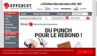Site internet de Uppercut