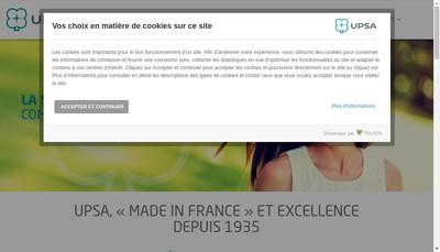 Site internet de Upsa