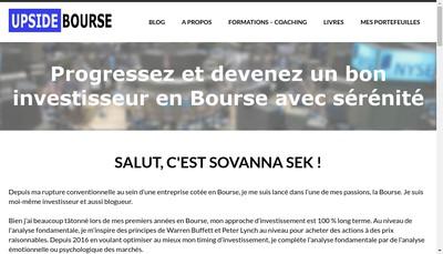 Site internet de Sovanna Sek