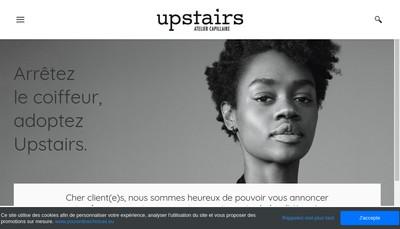 Site internet de Upstairs