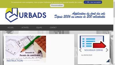 Site internet de Urbads