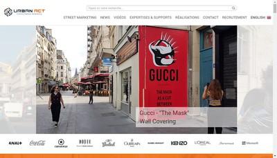 Site internet de Urban Act
