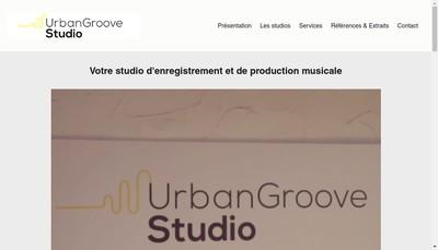 Site internet de Urban Groove