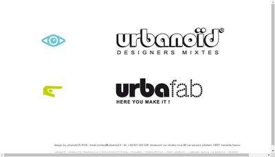 Site internet de Urbanoid