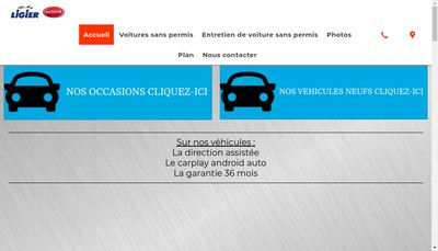 Site internet de Urban'S Cars