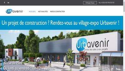 Site internet de Urbavenir Transactions Immobilieres