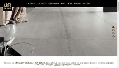 Site internet de Ur Ceram