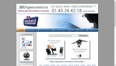 Site internet de Urgencemicro