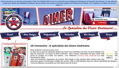 Site internet de Us Connection