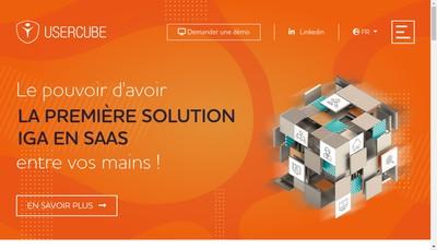 Site internet de Usercube