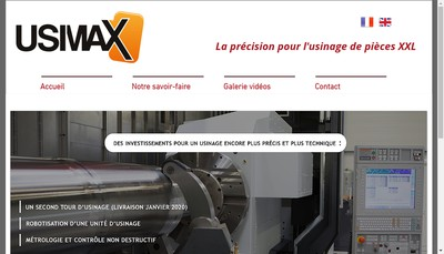 Site internet de Usimax