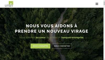 Site internet de Utsit