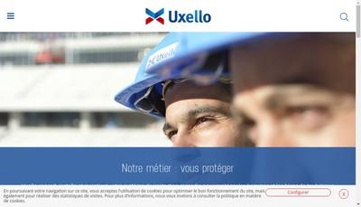 Site internet de Uxello