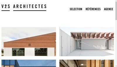 Site internet de V2S Architectes