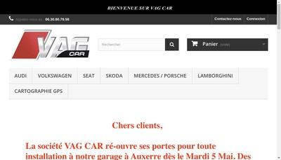 Site internet de Vag Car