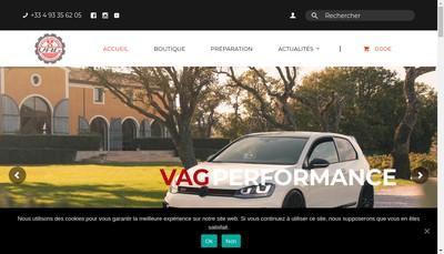 Site internet de Vag Performance