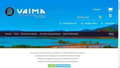 Site internet de Vaima