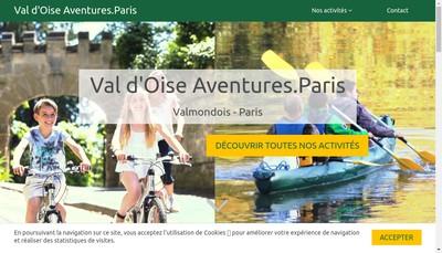 Site internet de Gforces Venture