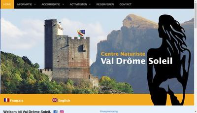 Site internet de Camping Val Drome Soleil