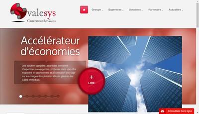 Site internet de Valesys