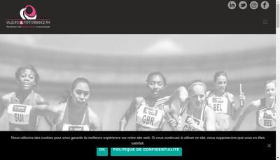 Site internet de Valeurs et Performance Rh