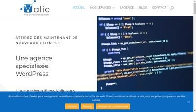 Site internet de Valic