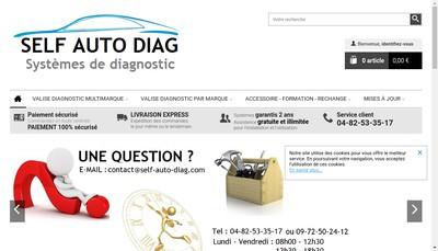 Site internet de Self Auto Diag