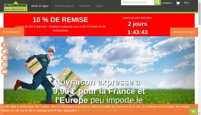 Site internet de Vallonchene
