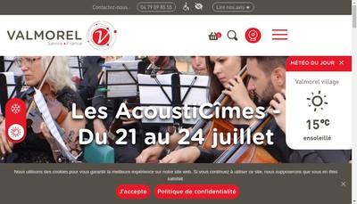 Site internet de Lagune Valmorel