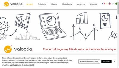Site internet de Valoptia