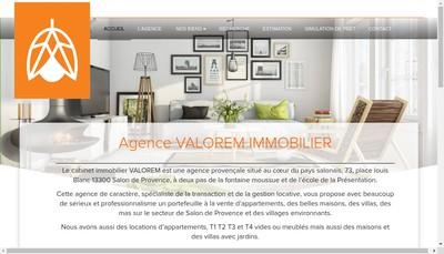 Site internet de Valorem