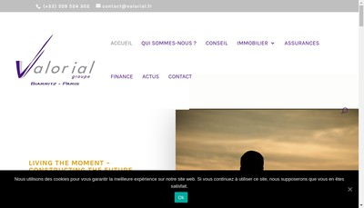 Site internet de Valorial