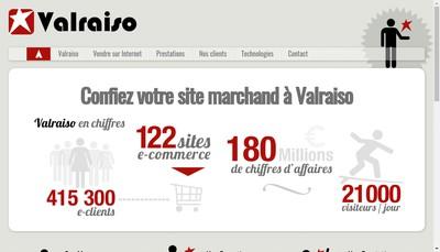 Site internet de Valraiso