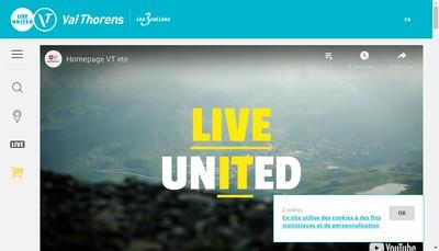 Site internet de Val Thorens le Cairn