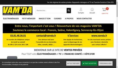 Site internet de Vam'Da