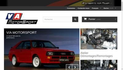 Site internet de VA Motorsport